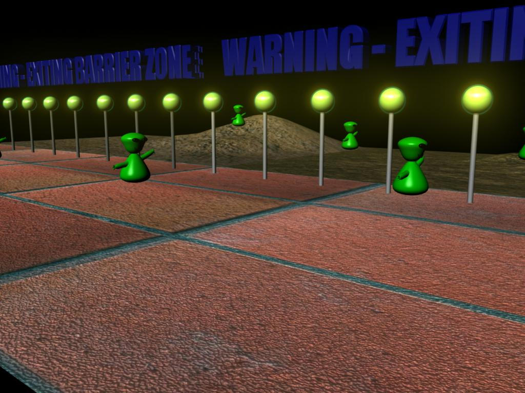 WARNING - EXITING BARRIER ZONE by ender-pontius