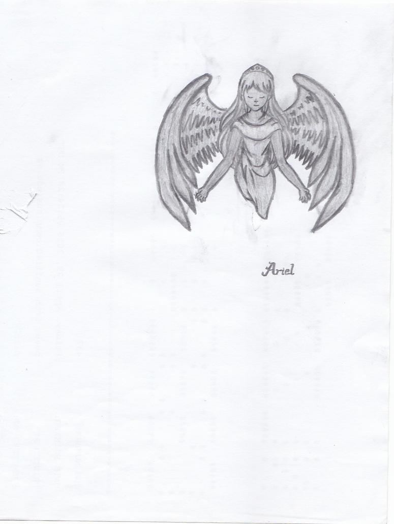 Ariel - MapleStory (Hand-drawn) by taygq
