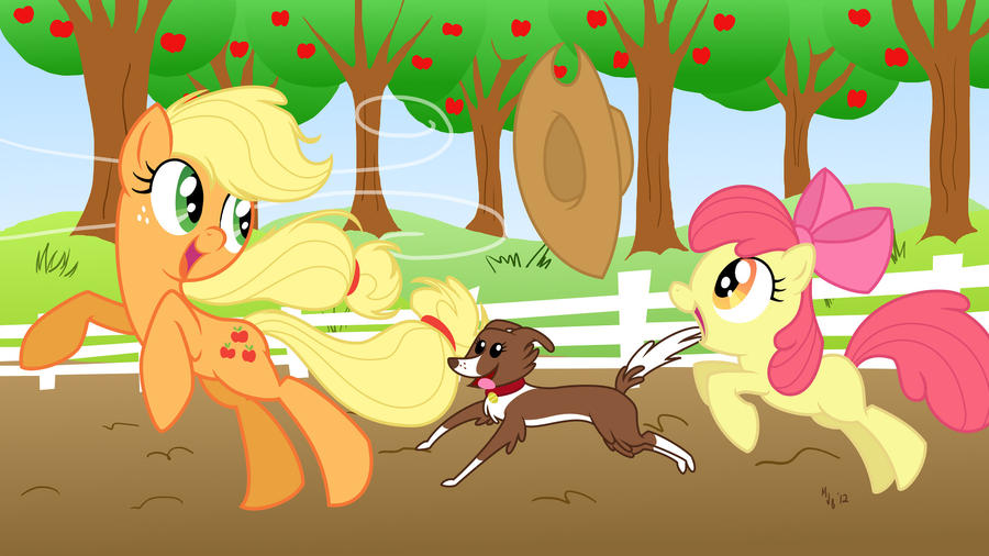 Applejack Celebration by MJBedi