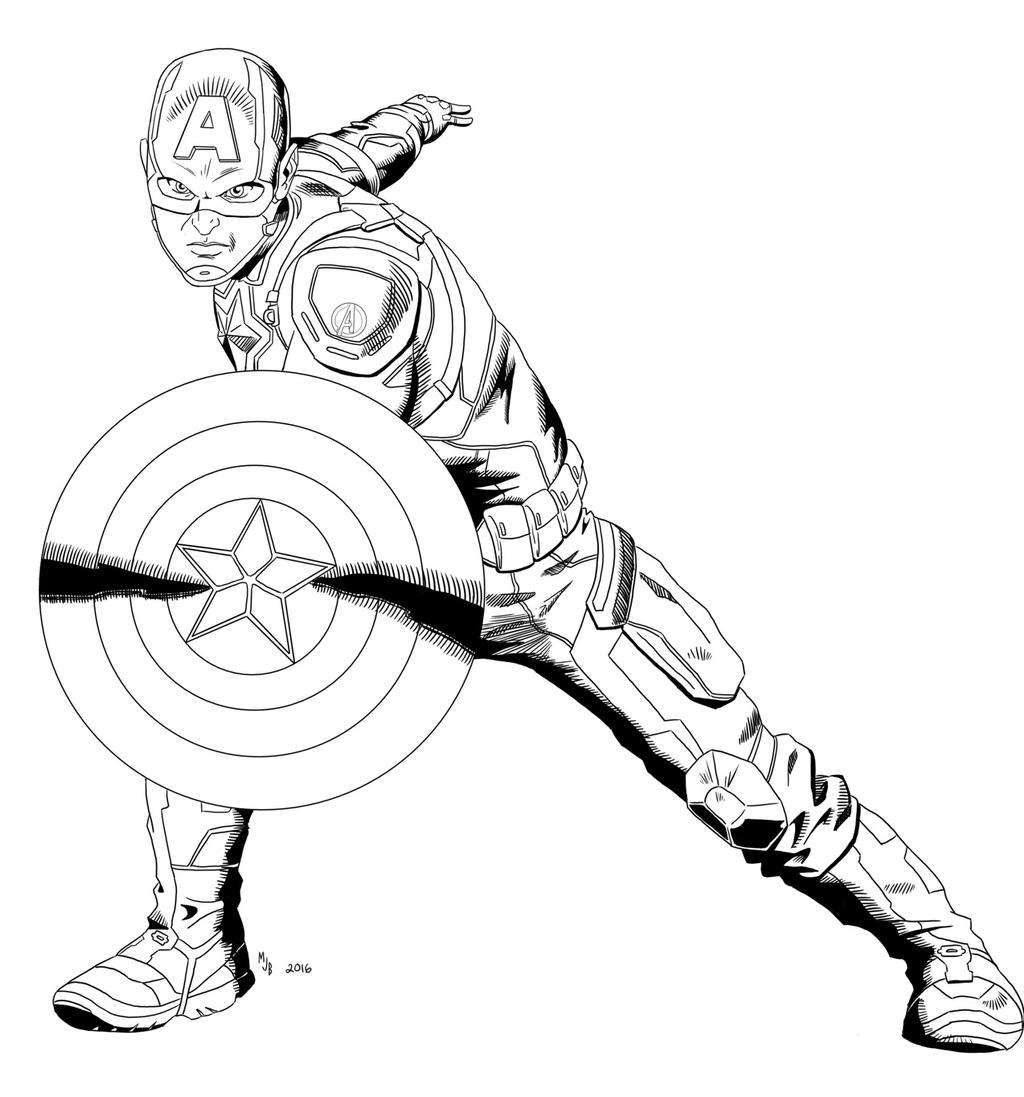 Captain America by MJBedi