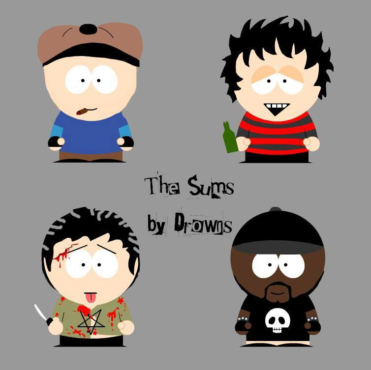 Sum 41 In South Park By Drowns On Deviantart