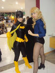 Batgirl and Black Canary