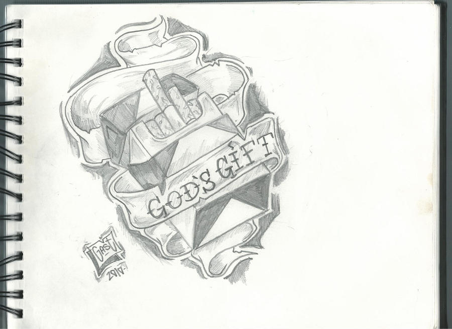 Gods gift by gast1503 on deviantart for Gifts for tattoo artist
