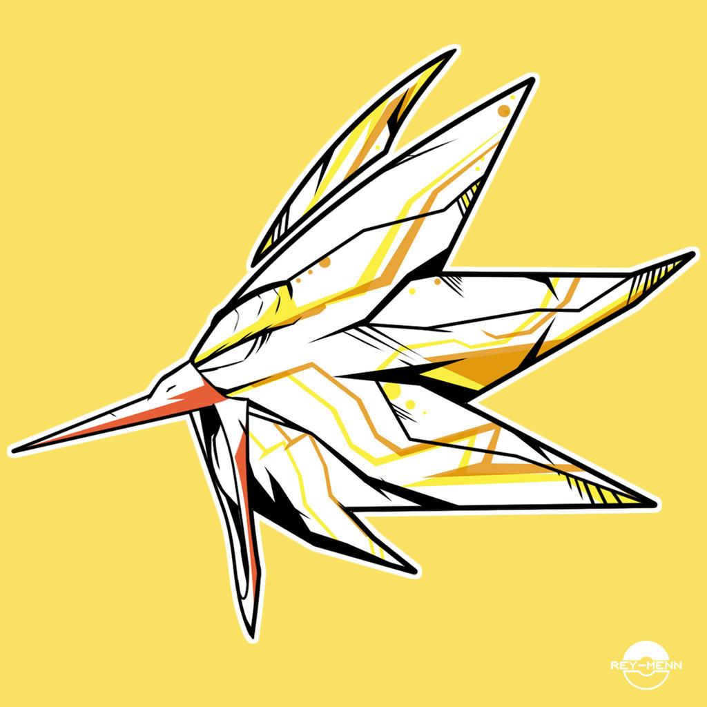 Zapdos POP Head by rey-menn