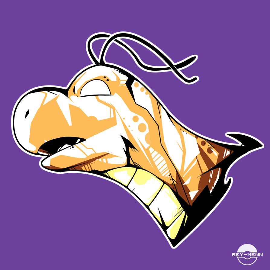 Dragonite POP Head by rey-menn