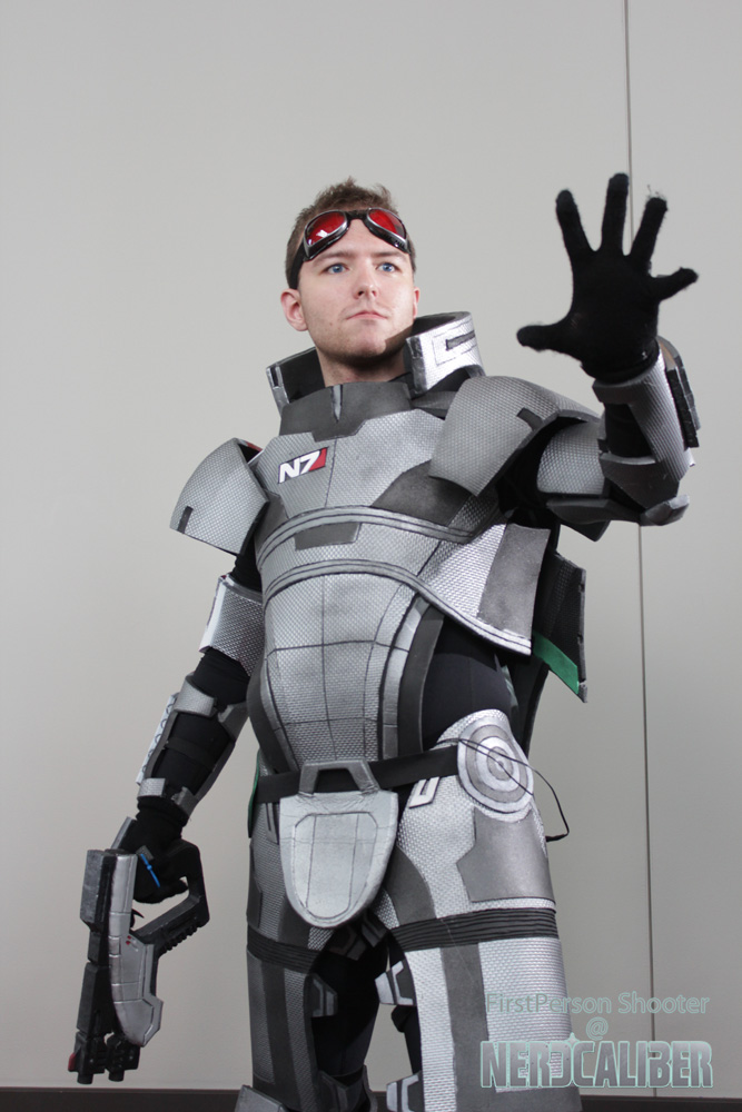 Commander Shepard N7 Armor Cosplay Mass Effect 2 By