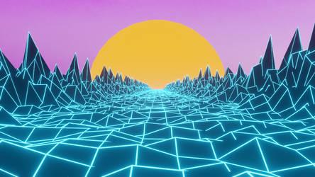 Sunset tron
