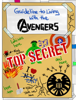 Guideline to living with the Avengers by szynka2496