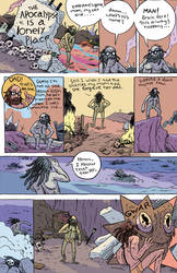 Lonely Apocalypse page 1 by blackpassmore