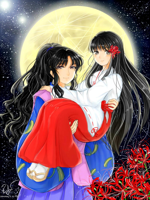Naraku And Kikyo By YuShiunhunz