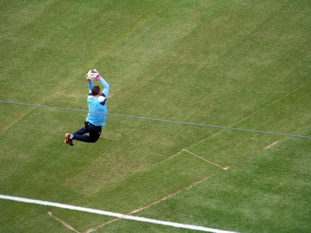 Manchester City Goalkeeper Richard Wright by AleksVarts