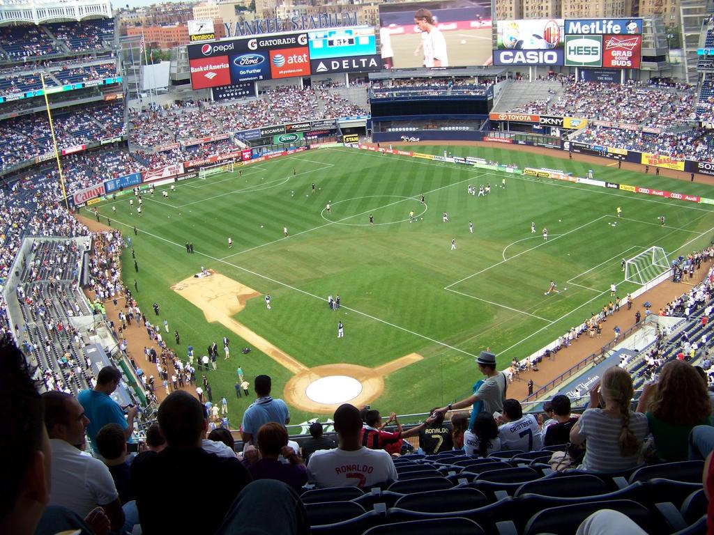 Real Madrid vs AC Milan at Yankee Stadium (2012) by AleksVarts
