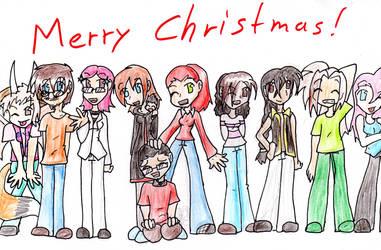Merry Christmas '08 by Sixala