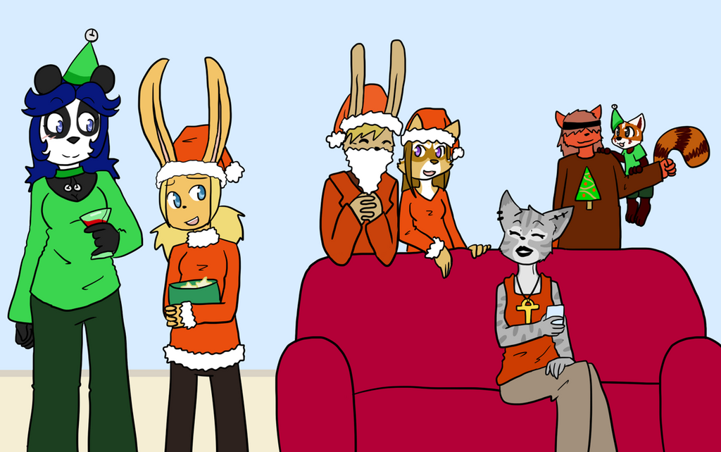 Christmas gathering '13 by Sixala