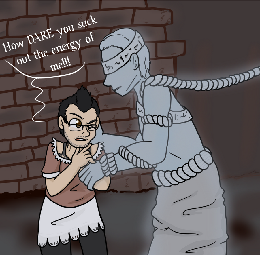 Markiplier vs. Mourner by Sixala