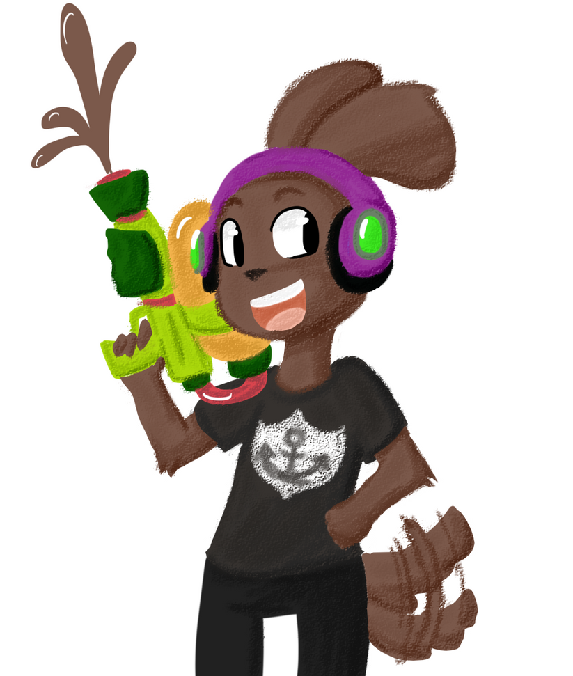 Splatoon David by Sixala