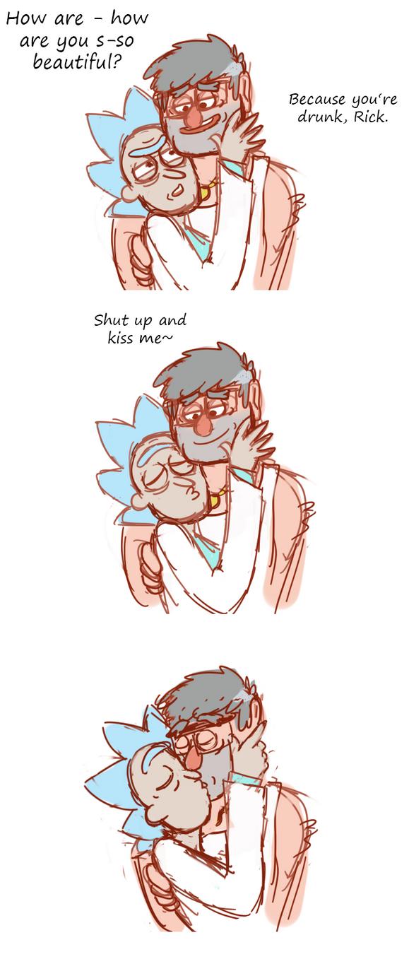 kiss me nerd by Sixala