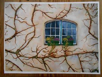 Window -Oil by annimalise
