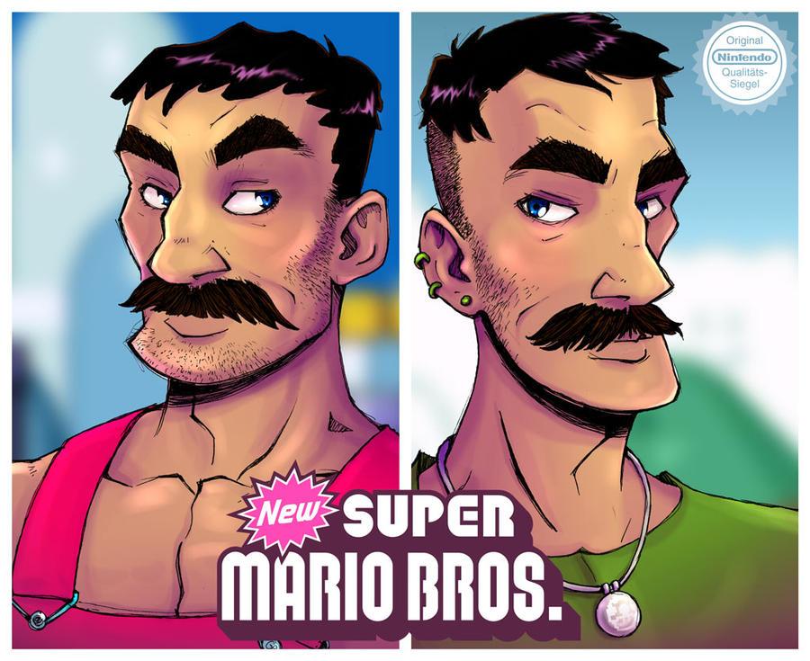 The New Super Mario Bros by gus-kitagawa