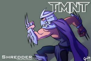 TMNT: Shredder by gus-kitagawa