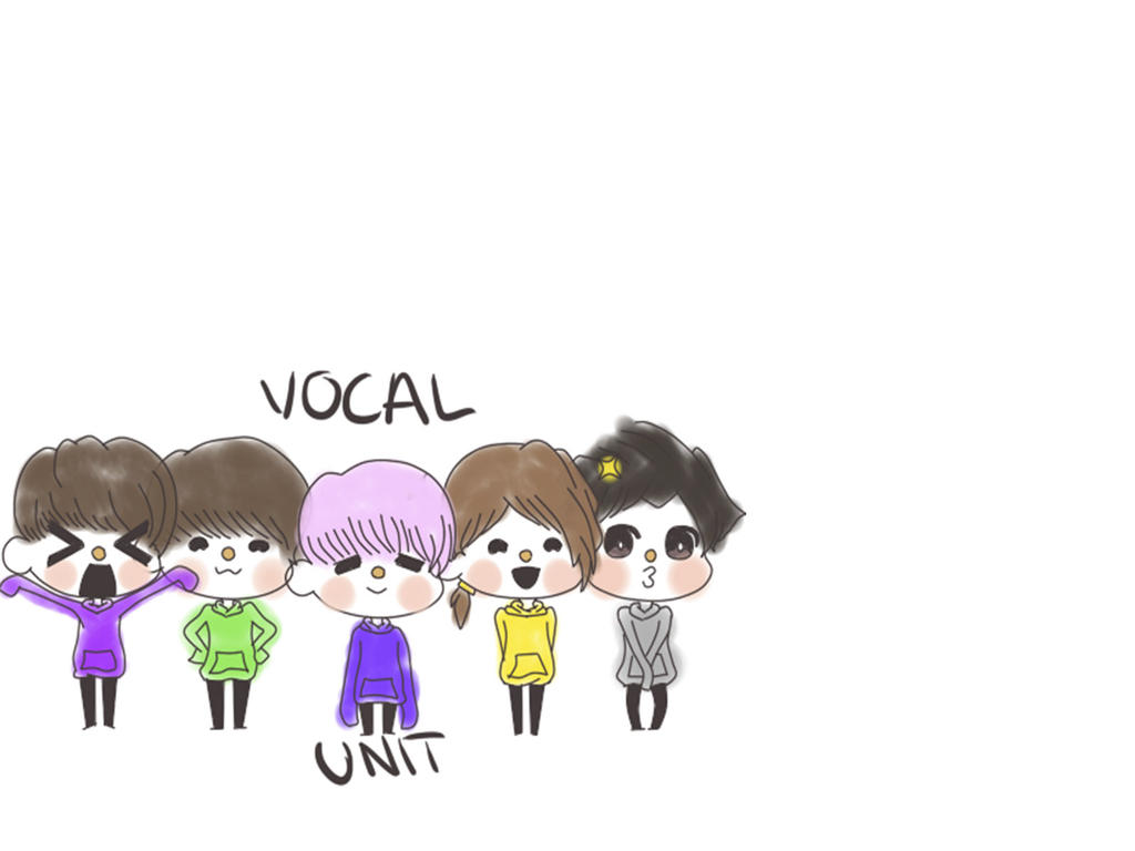 Seventeen Wallpaper KPOP Chibi - UNIT VOCAL by KpopVN on ...