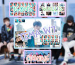 PACK BTS - YOU NEVER WALK ALONE !!!