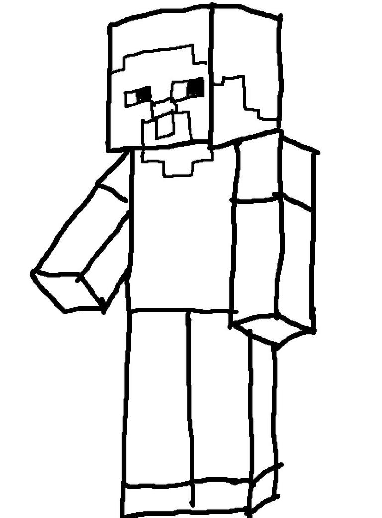 Alex And Steve Minecraft Coloring Pages Coloring Pages