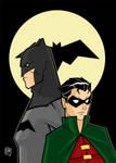 Batman and Robin color