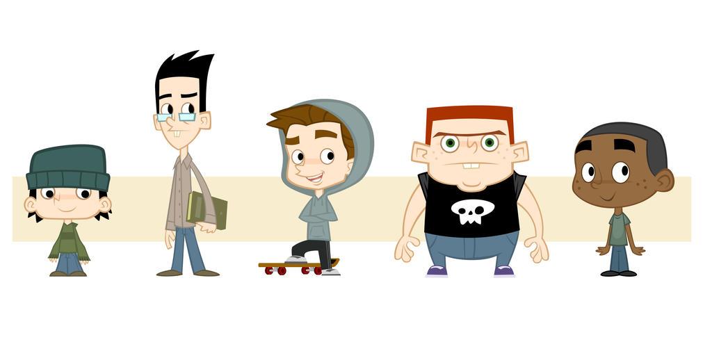 Character Design Vector : Vector character design by cesarvs on deviantart