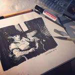Blade Runner Rachael Ink