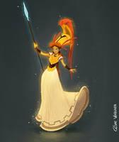 Athena by cesarvs