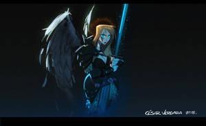 Angel Warrior by cesarvs