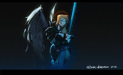 Angel Warrior by cesarvs