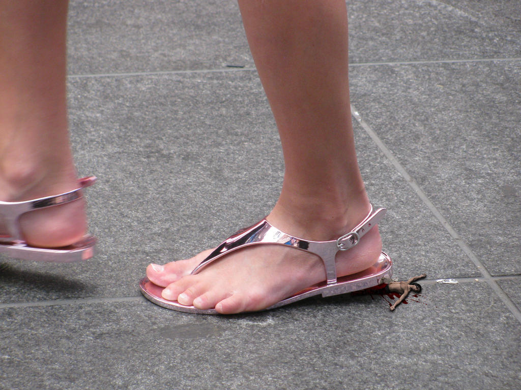 Flip flops crush
