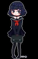 Schoolgirl by Kuro-qu