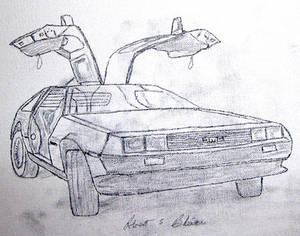 DeLorean Sketch 2S1