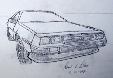 DeLorean Sketch S2P3