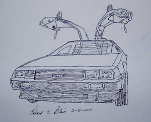 Delorean S2P5 Sketch