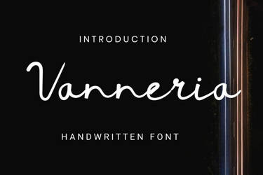 Vanneria Free Font