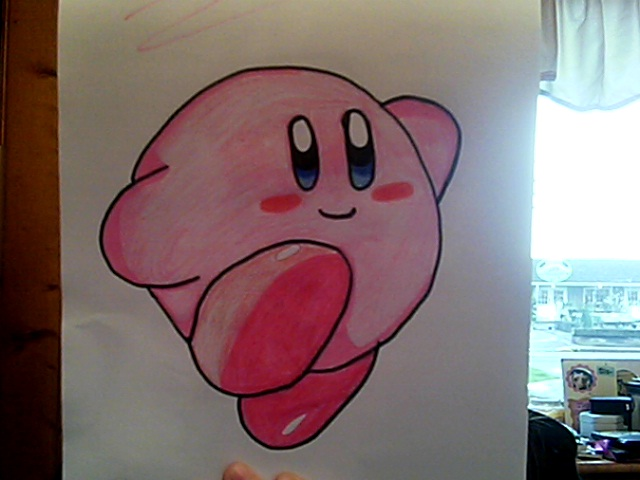 kirby by T400naruto