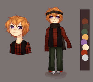 Ref Commission for UncommonlyNormal by Mylla-Peppers23