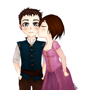 *Tangled* Commission for Chara-katina by Mylla-Peppers23