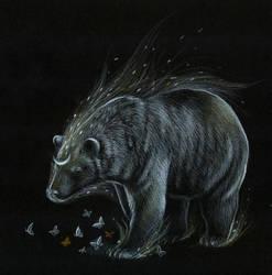 Moon Bear by Kaelycea