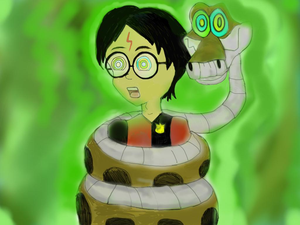 Harry Potter Hypnotized by Gosalyn2007