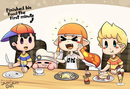 Let's eat something by YumYumCorn