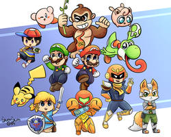 The 64 gang by YumYumCorn