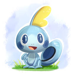 Sobble by YumYumCorn