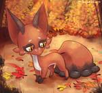 Lil fox pokemon: Nickit