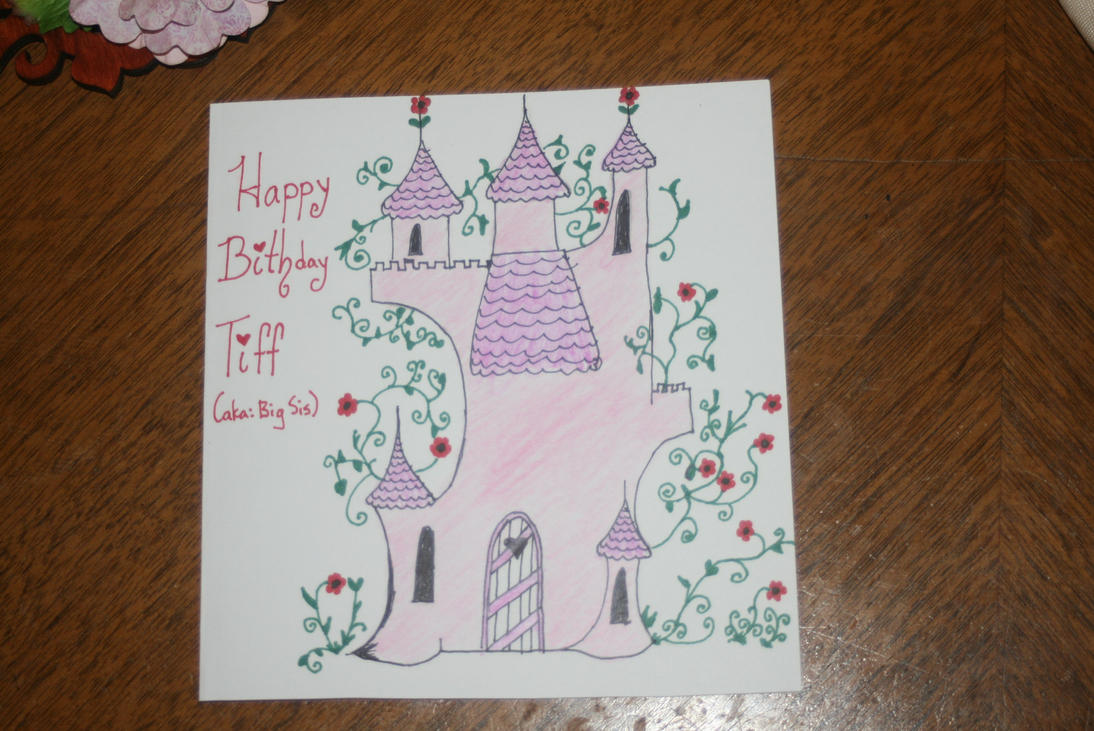 Tiff's B-day Card by Tamuril2