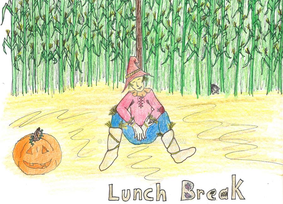 Lunch Break by Tamuril2